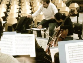 In reharsal with Tina Guo – Saint Saens Cello Concert